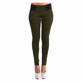 Pantalons Crayon Slim Sexy Femmes Leggings Pants Casual Stretch
