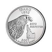 Quater Dollar Usa 2007 - Idaho