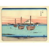 V�ritable Estampe Japonaise De Hiroshige :