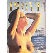 Prive Magazine N�8 - Mensuel Juin 1974 - Miss Danemark-Eddy Merckx-Xaviera Hollander-Charlotte Rampling Nue-Bouttier-Onassis Ruin�-Le Steaking- Le Mlf Ou La Mort?-Moto At2