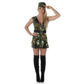 D�guisement Soldat Femme, Taille Medium