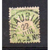 Allemagne ( Acien �tat Bavi�re)-1 Timbre Oblit�r�- Armoiries- N�59