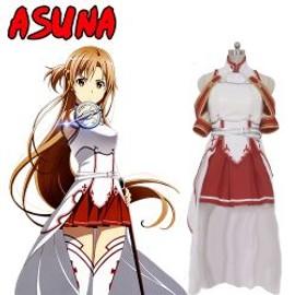 Cosplay Asuna Sword Art On Line Sao