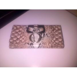 Portefeuille Besson Style Python Neuf