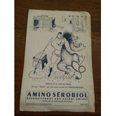 Buvard A Conserver - Illustration Hercule Et Le Lion Nemee - Amino Serobiol