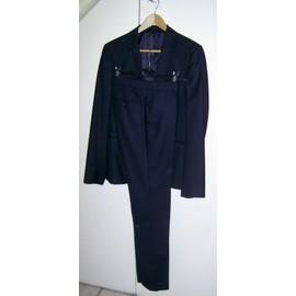 Costume Jules Slim Coton 38 Noir