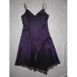 Robe De Soir�e 1.2.3 Taille 40 Violet /Noir