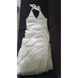 Robe 1.2.3 Polyester 40 Blanc Ivoire