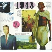 Cdcard 1948 20 Original Recordings ( The Cdcard Company / Emi / 1998 ) : Carte Anniversaire Avec 1 Cd Sur Lequel Figurent 20 Enregistrements Originaux De L'ann�e 1948
