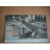 Cpa Palais De Versailles.Escalier De Marbre,Dit De La Reine.