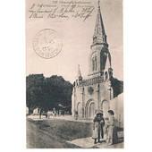 Cpa N� 1147 - Charente Inf�rieure - Ile D'ol�ron - St Denis - L'�glise Et La Place