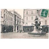 Cpa - N�234 - La Rochelle - Monument Fromentin Et Rue Du Palais