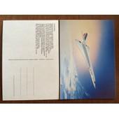 Carte Postale Concorde