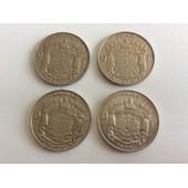 Belgique/Belgie - Lot De 4 Monnaies De 10 Francs Baudoin