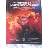 Official Advanced Dungeons & Dragons Manual Of The Planes de Jeff Grubb