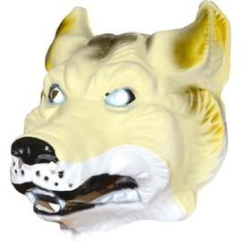 4 Masques Loup Adulte Pvc 3d - 29 X 24 Cm