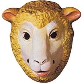 4 Masques Mouton Enfant Pvc 3d - 23 X 16 Cm
