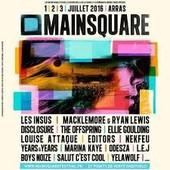 Pass 3 Jours Main Square 2016