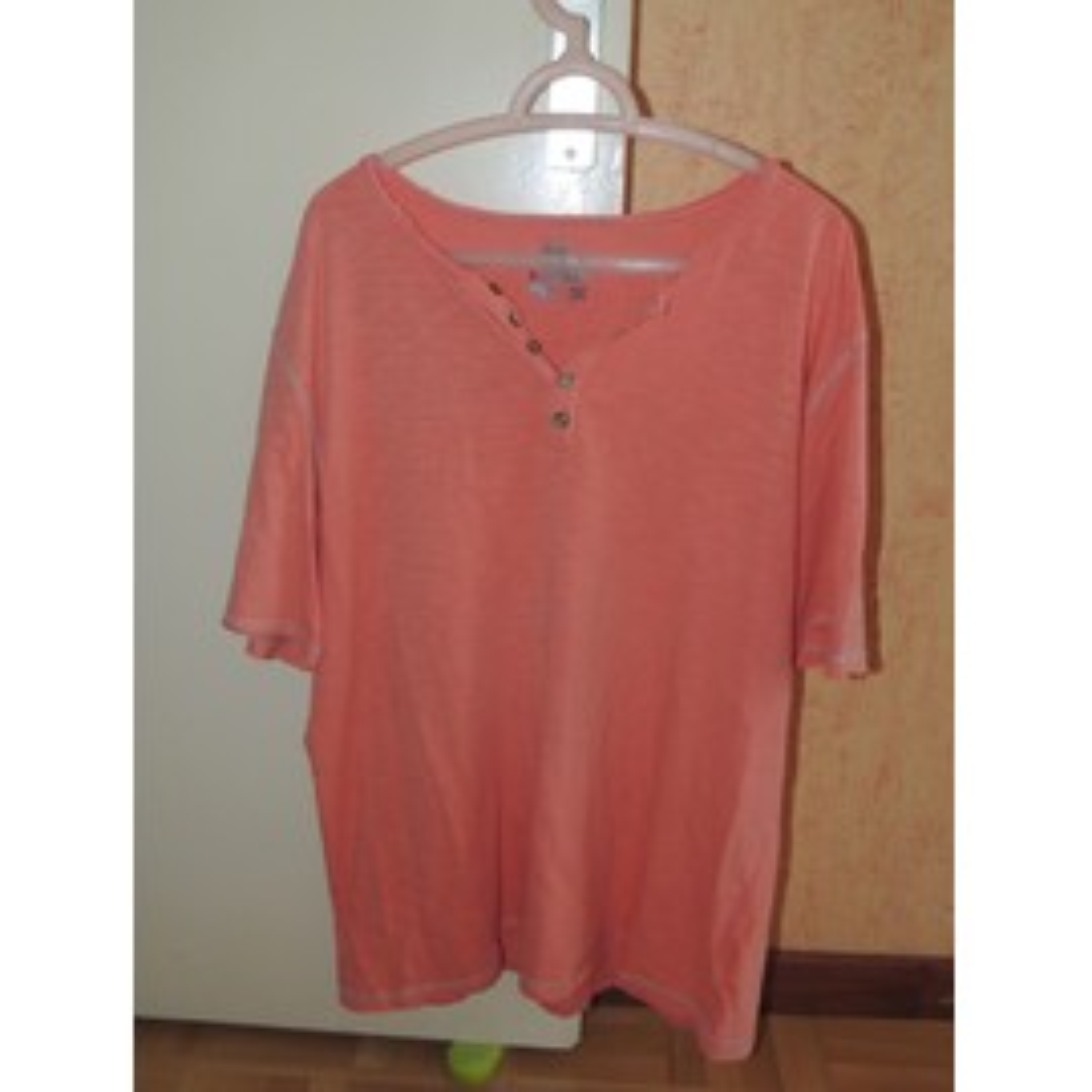 T-Shirt Armand Thiery Saumon En Coton