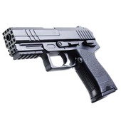 Replique Pistolet A Billes 15.5 Cm Abs Noir Elite Series 0.3 Joule 50521 Airsoft