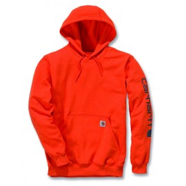 Carhartt Sweatshirt Sleeve Logo Hooded K288
