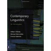 Contemporary Linguistics: An Introduction de William O'grady