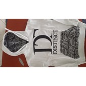 Sweat Distinct Coton 14 Ans Blanc