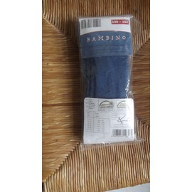 Collants Auchan Coton 10 Ans Bleu
