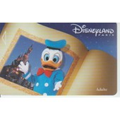 Passeport Adulte Disneyland Paris- Donald Duck-2001