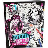 Monster High Ghoul Spirit Doodle Book