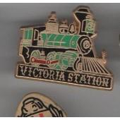 Pin's Train Locomotive Wagon Restaurant Victoria Pin's Ballard Ref 1594
