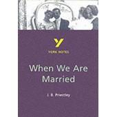 When We Are Married de J. B. Priestley
