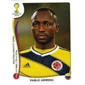 N� 190 - Stickers Image Panini Fifa World Cup Brasil 2014 - Pablo Armero