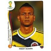 N� 195 - Stickers Image Panini Fifa World Cup Brasil 2014 - Fredy Guarin