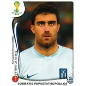 N� 207 - Stickers Image Panini Fifa World Cup Brasil 2014 - Sokratis Papastathopoulos