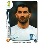 N� 213 - Stickers Image Panini Fifa World Cup Brasil 2014 - Giorgos Karagounis
