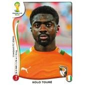 N� 225 - Stickers Image Panini Fifa World Cup Brasil 2014 - Kolo Toure
