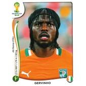 N� 236 - Stickers Image Panini Fifa World Cup Brasil 2014 - Gervinho