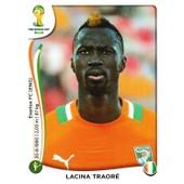N� 239 - Stickers Image Panini Fifa World Cup Brasil 2014 - Lacina Traore