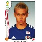 N� 253 - Stickers Image Panini Fifa World Cup Brasil 2014 - Keisuke Honda