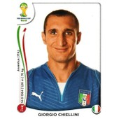 N� 322 - Stickers Image Panini Fifa World Cup Brasil 2014 - Giorgio Chellini