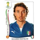 N� 328 - Stickers Image Panini Fifa World Cup Brasil 2014 - Riccardo Montolivo