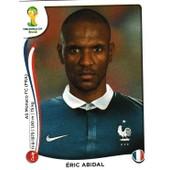 N� 382 - Stickers Image Panini Fifa World Cup Brasil 2014 - Eric Abidal