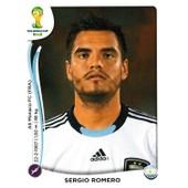 N� 414 - Stickers Image Panini Fifa World Cup Brasil 2014 - Sergio Romero