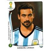 N� 426 - Stickers Image Panini Fifa World Cup Brasil 2014 - Ezequiel Lavezzi