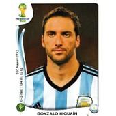 N� 429 - Stickers Image Panini Fifa World Cup Brasil 2014 - Gonzalo Higuain