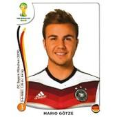 N� 500 - Stickers Image Panini Fifa World Cup Brasil 2014 - Mario Gotze