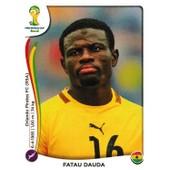 N� 528 - Stickers Image Panini Fifa World Cup Brasil 2014 - Fatau Dauda