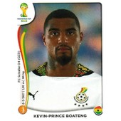 N� 539 - Stickers Image Panini Fifa World Cup Brasil 2014 - Kevin Prince Boateng