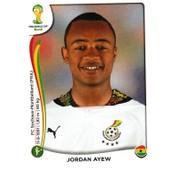 N� 543 - Stickers Image Panini Fifa World Cup Brasil 2014 - Jordan Ayew